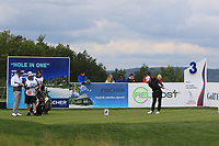 Daniel Im (USA) on the 3rd tee during Round 4 of the D+D Real Czech Masters at the Albatross Golf Resort, Prague, Czech Rep. 03/09/2017<br /> Picture: Golffile | Thos Caffrey<br /> <br /> <br /> All photo usage must carry mandatory copyright credit     (&copy; Golffile | Thos Caffrey)