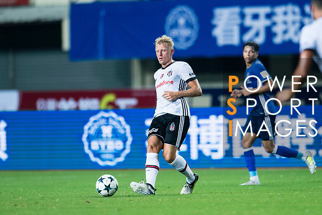 Besiktas Istambul Defender Andreas Beck (L) in action during the Friendly Football Matches Summer 2017 between FC Schalke 04 Vs Besiktas Istanbul at Zhuhai Sport Center Stadium on July 19, 2017 in Zhuhai, China. Photo by Marcio Rodrigo Machado / Power Sport Images