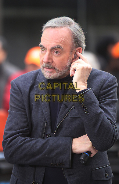 NEW YORK, NY - OCTOBER 20: Neil Diamond performs on NBC's Today Show on October 20, 2014.<br /> CAP/MPI/RW<br /> &copy;RW/MPI/Capital Pictures