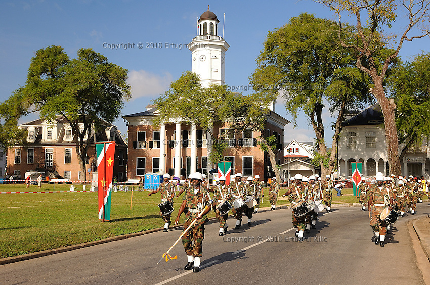 Srefidensi (independent day of) 2008 of Suriname, Paramaribo