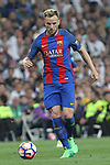 Ivan Rakitic of FC Barcelona during the match of La Liga between Real Madrid and Futbol Club Barcelona at Santiago Bernabeu Stadium  in Madrid, Spain. April 23, 2017. (ALTERPHOTOS)