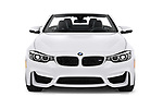 Car photography straight front view of a 2020 BMW M4 Base 2 Door Convertible