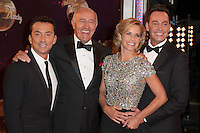 Judges, Bruno Tonioli, Len Goodman, Darcey Bussell and Craig Revel Horwood at the Strictly Come Dancing Launch, London, 02/09/2014 Picture by: Alexandra Glen / Featureflash