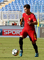 Calcio, Serie A: Roma vs Udinese. Roma, stadio Olimpico, 23 settembre 2017.<br /> Roma&rsquo;s Diego Perotti in action during the Italian Serie A football match between Roma and Udinese at Rome's Olympic stadium, 23 September 2017. Roma won 3-1.<br /> UPDATE IMAGES PRESS/Riccardo De Luca