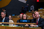 General Assembly Seventy-fourth session, 7th plenary meeting<br /> <br /> <br /> Austria