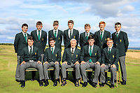 Team Ireland during previews for the Boys' Home Internationals played at Royal Dornoch, Dornoch, Sutherland, Scotland. 06/08/2018<br /> Picture: Golffile | Phil Inglis<br /> <br /> All photo usage must carry mandatory copyright credit (&copy; Golffile | Phil Inglis)