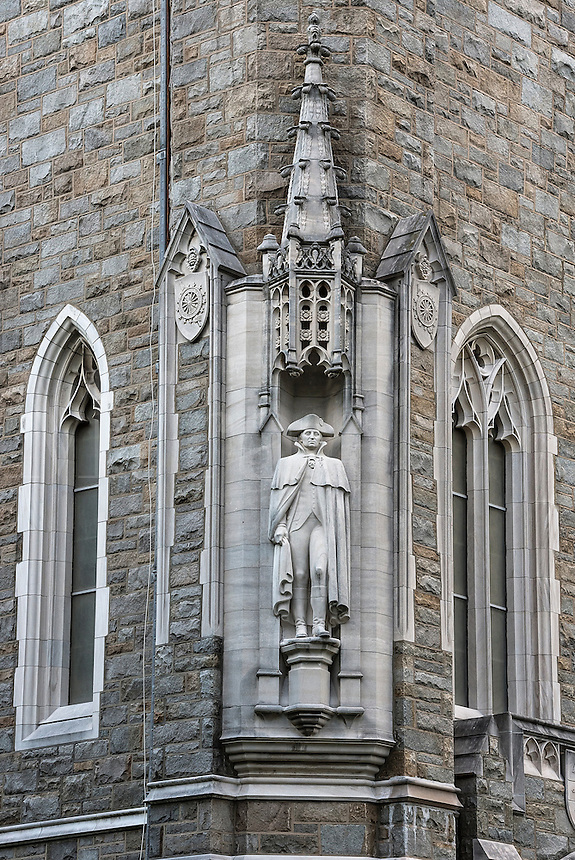 The Washington Memorial Chapel at Valley Forge National Historical Park, Pennsylvania, USA