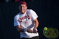 Stanford Tennis M vs USC, February 2, 2018