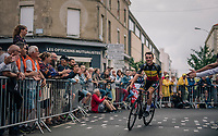 Fresh Belgian Champion Yves Lampaert (BEL/Quick Step Floors) at the Team presentation in La Roche-sur-Yon<br /> <br /> Le Grand Départ 2018<br /> 105th Tour de France 2018<br /> ©kramon