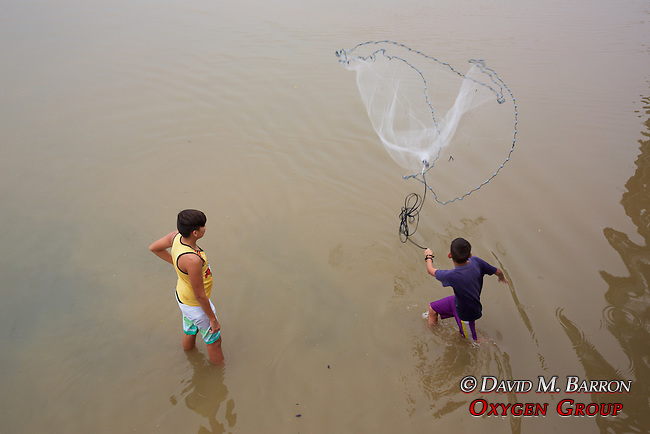 Fishing With Net