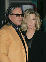 Kim Basinger, Mickey Rourke<br /> 2009<br /> Photo By Russell EInhorn/CelebrityArchaeology.com