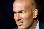 Manager Zinedine Zidane of Real Madrid prior to the UEFA Champions League 2017-18 match between Real Madrid and APOEL FC at Estadio Santiago Bernabeu on 13 September 2017 in Madrid, Spain. Photo by Diego Gonzalez / Power Sport Images