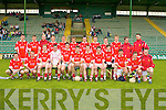 COUNTY CHAMPIONSHIP: The East Kerry U21 team who made it to the U21 County Championship Final at Austin Stack Park on Sunday front l-r: Michael O'Shea, John O'Mahony, Donal Murphy, Patrick O'Riordan, D.J. O'Connor, Jimmy O'Leary, Anthony Sweeney, Damien Moynihan, Niall McCarthy, Philip Cremin, Denis Sheehan and Kevin Breen.  Back l-r: Brian Kelly, James O'Donoghue, Cian Tobin, Jonathan Lyne, Colm O'Shea, Padraig O'Connor, Matthew Culltoy, Brian Russell, Kevin O'Sullivan, Daniel O'Shea, Damien O'Sullivan and Andy Regan.