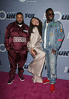 WEST HOLLYWOOD, CA - FEBRUARY 8: DJ Khaled,  Evvie McKinney, Sean Combs, Diddy, at The FOX season finale viewing party for The Four: Battle For Stardom at Delilah in West Hollywood, California on February 8, 2018. <br /> CAP/MPI/FS<br /> &copy;FS/MPI/Capital Pictures