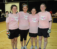 17th November 2013; Kate Dagg, Annie Havern, Jannet Flannagan and Ellen O'Connor. She's Ace - Women in handball event, Breaffy House Sports Arena, Castlebar, Co Mayo. Picture credit: Tommy Grealy/actionshots.ie.