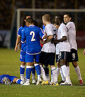 US Men's National Team and El Salvador National Team during FIFA World Cup qualifier against El Salvador. USA tied El Salvador 2-2 at Estadio Cuscatlán Stadium in El Salvador on March 28, 2009.