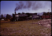 D&amp;RGW #464 K-27 switching at Chama.<br /> D&amp;RGW  Chama, NM  6/29/1965