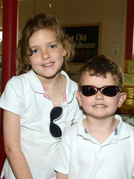 Sean and Aine Moore pictured at the Old Schoolhouse market. Photo:Colin Bell/pressphotos.ie