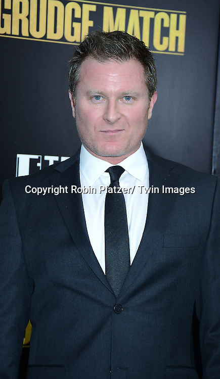 """Todd Truly  attends the World Premiere of """"Grudge Match"""" at the Ziegfeld Theatre in New Yok City on December 16, 2013."""