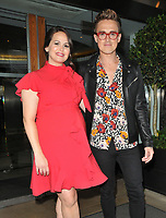 Giovanna Fletcher and Tom Fletcher at the Tom and Giovanna Fletcher's &quot;Eve of Man&quot; book launch party, The Marylebone Hotel, Welbeck Street, London, England, UK, on Thursday 31 May 2018.<br /> CAP/CAN<br /> &copy;CAN/Capital Pictures