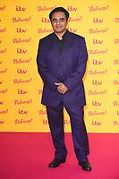 Sanjeev Bhaskar<br /> arriving for the ITV Palooza at the Royal Festival Hall London<br /> <br /> ©Ash Knotek  D3444  16/10/2018