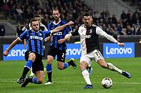 Stefan de Vrij of FC Internazionale , Cristiano Ronaldo of Juventus <br /> Milano 6-10-2019 Stadio Giuseppe Meazza <br /> Football Serie A 2019/2020 <br /> FC Internazionale - Juventus FC <br /> Photo Andrea Staccioli / Insidefoto