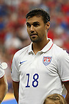13 July 2015: Chris Wondolowski (USA). The United States Men's National Team played the Panama Men's National Team at Sporting Park in Kansas City, Kansas in a 2015 CONCACAF Gold Cup Group A match.