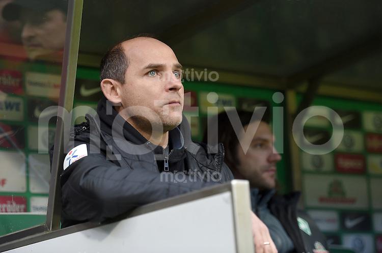 FUSSBALL   1. BUNDESLIGA   SAISON 2014/2015   15. SPIELTAG SV Werder Bremen - Hannover 96                         13.12.2014 Trainer Viktor Skripnik (SV Werder Bremen)