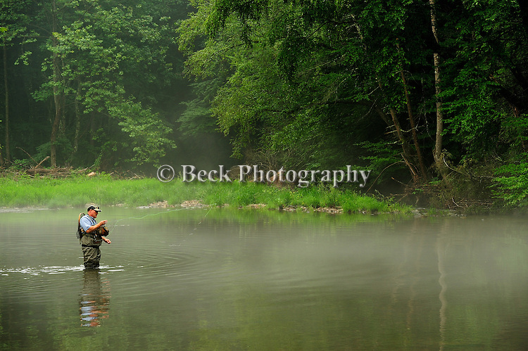 Fly fishing image,Huntington Creek PA