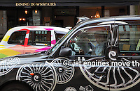 London cabs, UK. Picture by Manuel Cohen