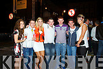 Jessica O'connor, Dean hartnett, rachel collins, podge o'connor, darren keane, ryan carroll and ciara mangan all of abbeyfeale pictured last saturday night in newcastle west 2013