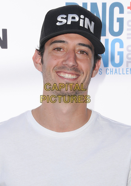 11 August 2016 - Los Angeles, California. Mathieu Forget. Clayton Kershaw's 4th Annual Ping Pong 4 Purpose Celebrity Tournament held at Dodger Stadium. <br /> CAP/ADM/BT<br /> &copy;BT/ADM/Capital Pictures