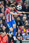 Saul Niguez Esclapez of Atletico de Madrid in action during their 2016-17 UEFA Champions League Round of 16 second leg match between Atletico de Madrid and Bayer 04 Leverkusen at the Estadio Vicente Calderon on 15 March 2017 in Madrid, Spain. Photo by Diego Gonzalez Souto / Power Sport Images