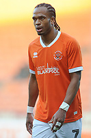 Blackpool's Nathan Delfouneso<br /> <br /> Photographer Kevin Barnes/CameraSport<br /> <br /> Emirates FA Cup Second Round - Blackpool v Maidstone United - Sunday 1st December 2019 - Bloomfield Road - Blackpool<br />  <br /> World Copyright © 2019 CameraSport. All rights reserved. 43 Linden Ave. Countesthorpe. Leicester. England. LE8 5PG - Tel: +44 (0) 116 277 4147 - admin@camerasport.com - www.camerasport.com