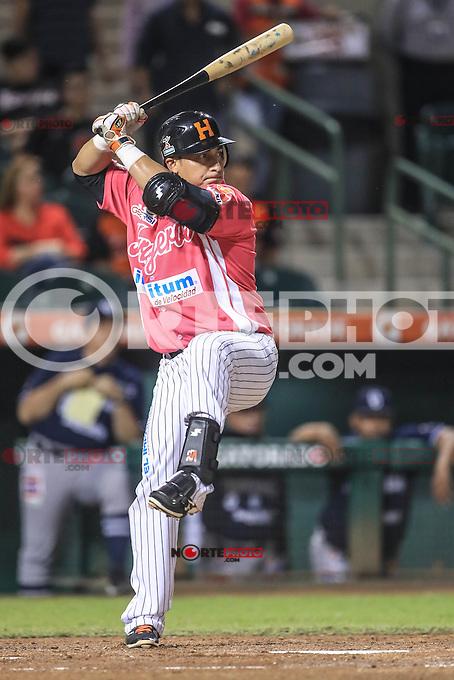 Jose Amador de Naranjeros, durante el partido2 de beisbol entre Naranjeros de Hermosillo vs Yaquis de Obregon. Temporada 2016 2017 de la Liga Mexicana del Pacifico.<br /> &copy; Foto: LuisGutierrez/NORTEPHOTO.COM