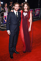 "Mark Stanley and Ruth Wilson<br /> arriving for the London Film Festival 2017 screening of ""Dark River"" at the Odeon Leicester Square, London<br /> <br /> <br /> ©Ash Knotek  D3323  07/10/2017"