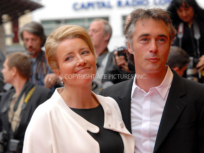 WWW.ACEPIXS.COM . . . . .  ..... . . . . US SALES ONLY . . . . .....June 3 2009, London....Emma Thompson (L) and Greg Wise attends the UK premiere of 'Last Chance Harvey' at the Odeon West End on June 3 2009 in London, England.....Please byline: FAMOUS-ACE PICTURES... . . . .  ....Ace Pictures, Inc:  ..tel: (212) 243 8787 or (646) 769 0430..e-mail: info@acepixs.com..web: http://www.acepixs.com