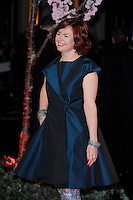 Clare Stewart <br /> attending the 57th BFI London Film Festival Closing Night Gala World Premiere of 'Saving Mr Banks', Odeon Cinema, Leicester Square, London, England. <br /> 20th October 2013<br /> half length blue dress <br /> CAP/MAR<br /> © Martin Harris/Capital Pictures