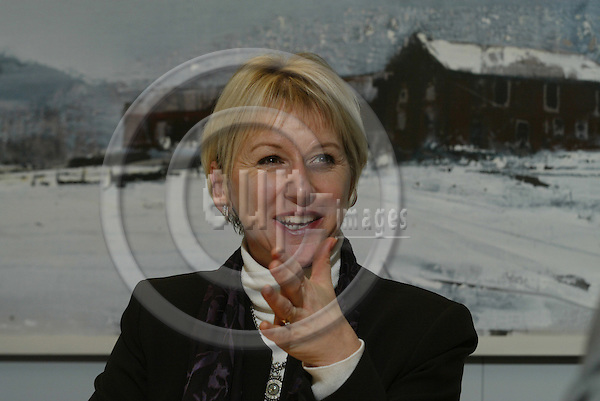 BRUSSELS - BELGIUM - 9 DECEMBER 2004 --Margot Wallstr?m, Vicepresident and EU-Commissioner for Institutional Relations and Communication Strategy.-- PHOTO: ERIK LUNTANG / EUP-IMAGES