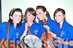 Mairead Kelleher, Fiona Culloty, Cli?ona Creedon and Norita Cashman Glenflesk at Scor na nO?g in the Gleneagle Hotel Killarney on Sunday night    Copyright Kerry's Eye 2008