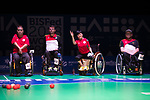 Wai Yan Vivian Lau (HKG)<br /> BC4 Bronze Medal Match<br /> Germany v Hong Kong<br /> BISFed 2018 World Boccia Championships <br /> Exhibition Centre Liverpool<br /> 18.08.18<br /> ©Steve Pope<br /> Sportingwales