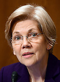 United States Senator Elizabeth Warren (Democrat of Massachusetts) a member of the US Senate Committee on Health, Education, Labor and Pensions during the hearing  considering the confirmation of Betsy DeVos of Grand Rapids, Michigan to be US Secretary of Education on Capitol Hill in Washington, DC on Tuesday, January 17, 2017.<br /> Credit: Ron Sachs / CNP