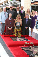 LOS ANGELES - MAY 4:  Vin Di Bona, Quentin Tarantino, Kurt Russell, Jeff Zarrinnam, Kate Hudson, Reese Witherspoon, Leron Gubler, Goldie Hawn, Mitch O'Farrell at the Kurt Russell and Goldie Hawn Star Ceremony on the Hollywood Walk of Fame on May 4, 2017 in Los Angeles, CA