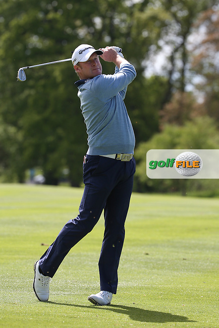 Jamie Donaldson (WAL) during Round One of the 2016 Dubai Duty Free Irish Open Hosted by The Rory Foundation which is played at the K Club Golf Resort, Straffan, Co. Kildare, Ireland. 19/05/2016. Picture Golffile   David Lloyd.<br /> <br /> All photo usage must display a mandatory copyright credit as: &copy; Golffile   David Lloyd.
