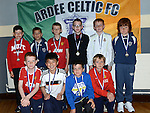Ardee Celtic Under-11 players pictured at the club awards held in Ardee Parish Centre. Photo:Colin Bell/pressphotos.ie