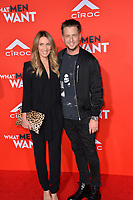 LOS ANGELES, CA. January 28, 2019: Ryan Tedder &amp; Genevieve Tedder  at the US premiere of &quot;What Men Want!&quot; at the Regency Village Theatre, Westwood.<br /> Picture: Paul Smith/Featureflash