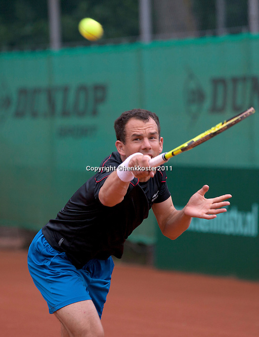 05-06-11, Tennis, Den Haag, Playoffs Eredevisie05-06-11, Tennis, Den Haag, Play-offs  Eredivisie, Dominic Rhabaty