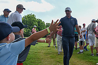 Brooks Koepka (USA) shakes hands with fans enroute to 12 during round 4 of the Fort Worth Invitational, The Colonial, at Fort Worth, Texas, USA. 5/27/2018.<br /> Picture: Golffile | Ken Murray<br /> <br /> All photo usage must carry mandatory copyright credit (© Golffile | Ken Murray)