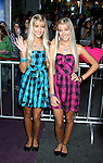 "HOLLYWOOD, CA. - February 24: Actresses Milly Rosso and Becky Rosso arrive at the Los Angeles premiere of ""Jonas Brothers: The 3D Concert Experience"" at the El Capitan Theatre on February 24, 2009 in Los Angeles, California."