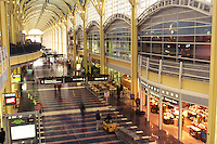 airport terminal, Washington, D.C./Arlington, VA, Virginia, Ronald Reagan Washington National Airport in Arlington/Washington area.